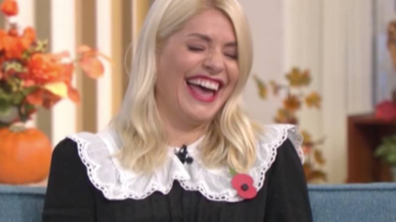 Holly Willoughby In Hysterics Over Kids' NSFW Artwork On This Morning