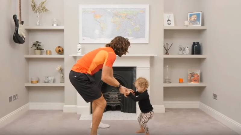 Fans In Stitches As Joe Wicks' Adorable Daughter Interrupts His PE Class