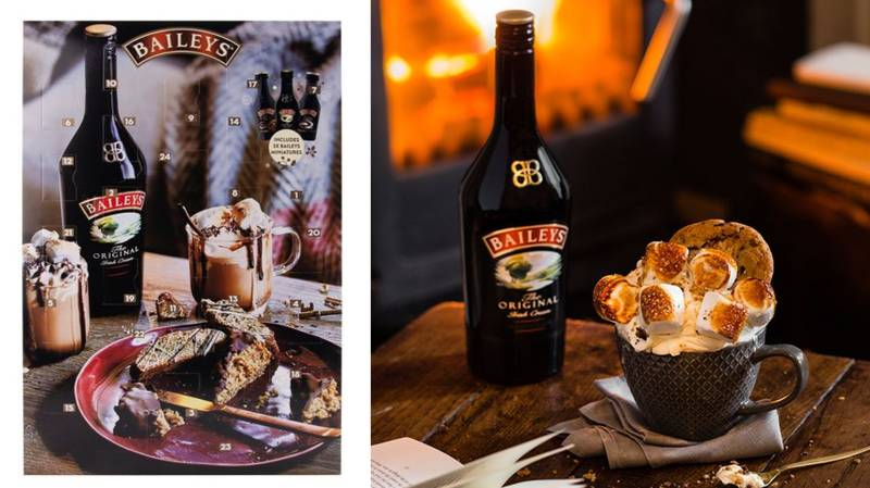 Baileys Has Launched Boozy Advent Calendars For The Christmas Countdown