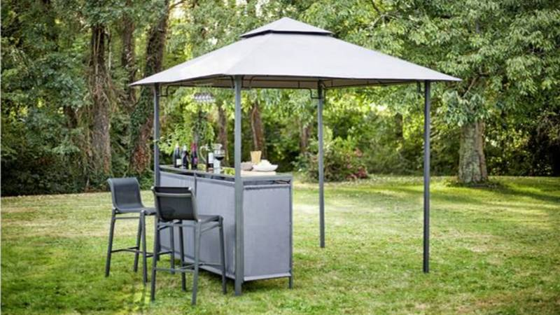 Argos Slashes The Price Of Its Gazebo With Built-In Bar By Over £130