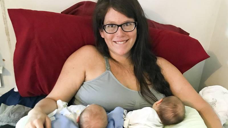 Woman Has Surprise Twin Moments After Giving Birth To Her Daughter