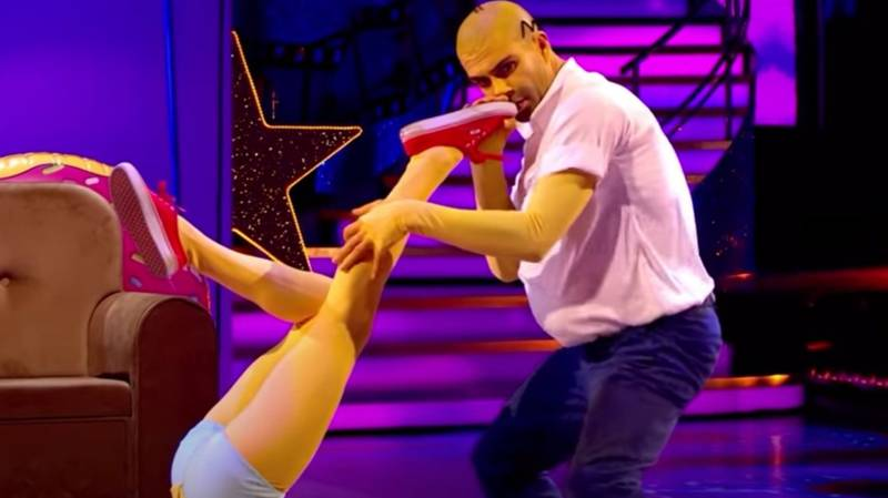 Strictly Come Dancing: Fans Are Calling This Simpsons Routine The Weirdest Dance Ever
