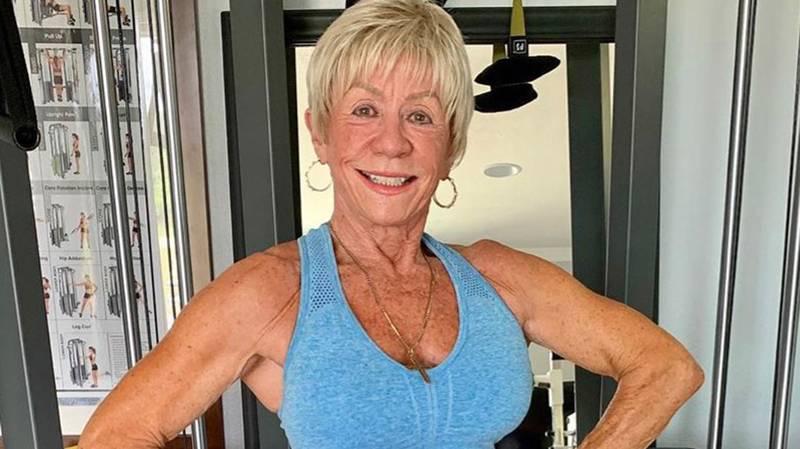 Woman Becomes Body Builder Aged 76