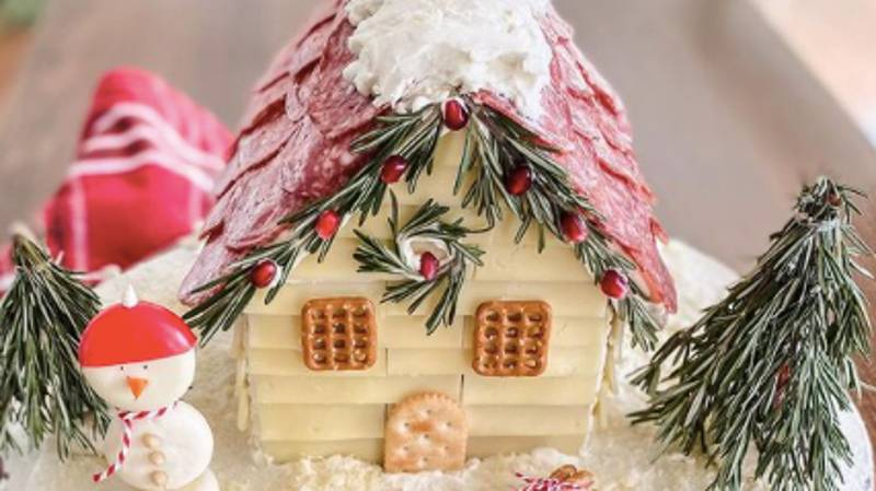 These Gingerbread 'Charcuterie' Chalets Are The Stuff Of Dreams