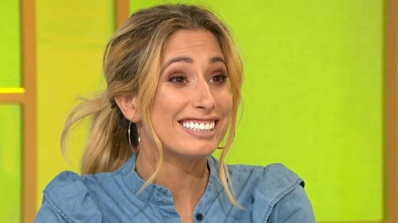 Backstreet Boys Tried To Teach Stacey Solomon To Dance And She Couldn't Cope