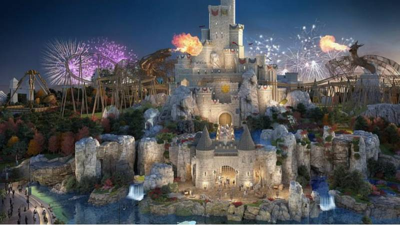 New Snaps Of £3.5billion 'UK Disneyland' Show All Of The Rides And Attractions