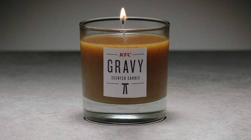 KFC Launches Limited Edition Gravy-Scented Candle