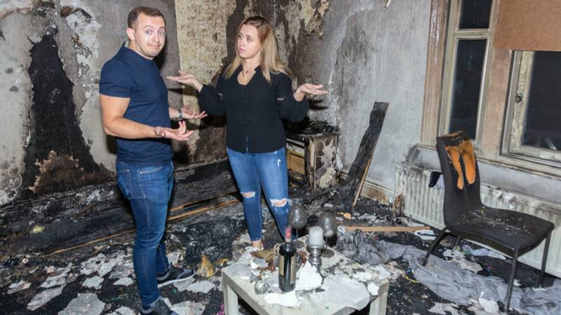 Man Burns Down His Flat After Elaborate Candle Proposal Ends In Disaster