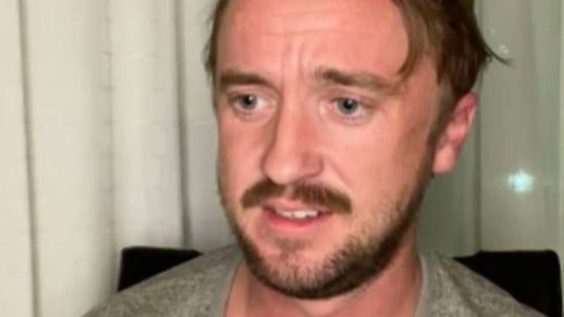 Harry Potter's Tom Felton In Tears As He Watches Philosopher's Stone 20 Years Later