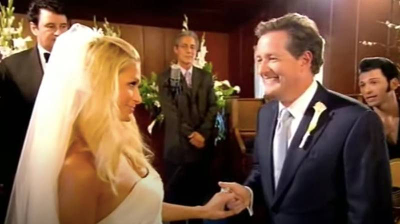 Piers Morgan Claims He's 'Technically Still Married' To Paris Hilton