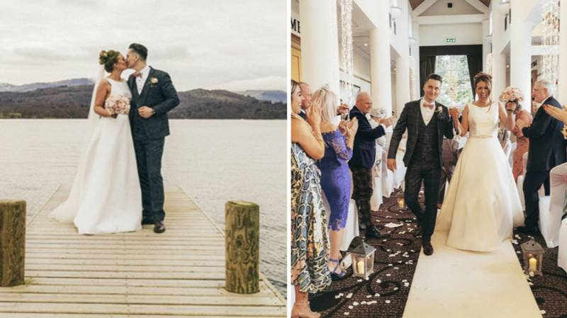 Couple Shoot Their Entire Wedding On A Smartphone - And The Photos Are Incredible