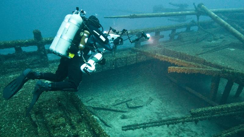 Underwater Museum Where You Can Swim Among Shipwrecks Opens In Greece