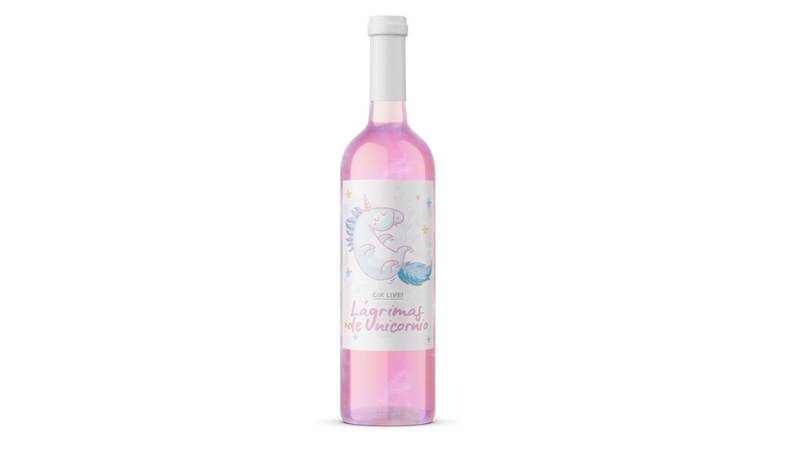 Glittery Pink Unicorn Tear Rosé Wine Is Now A Thing