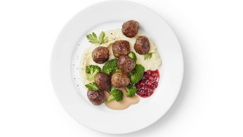IKEA Releases Its Famous Swedish Meatball Recipe So You Can Make Them At Home