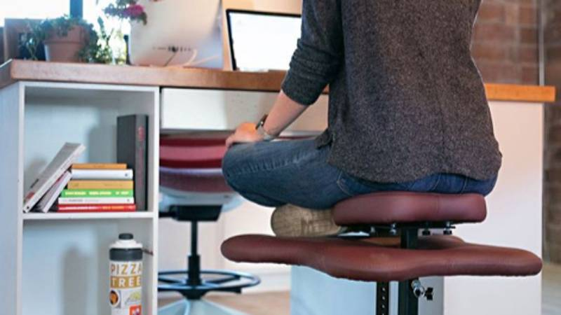 Someone Has Created A Chair For People Who Love Sitting Cross-Legged