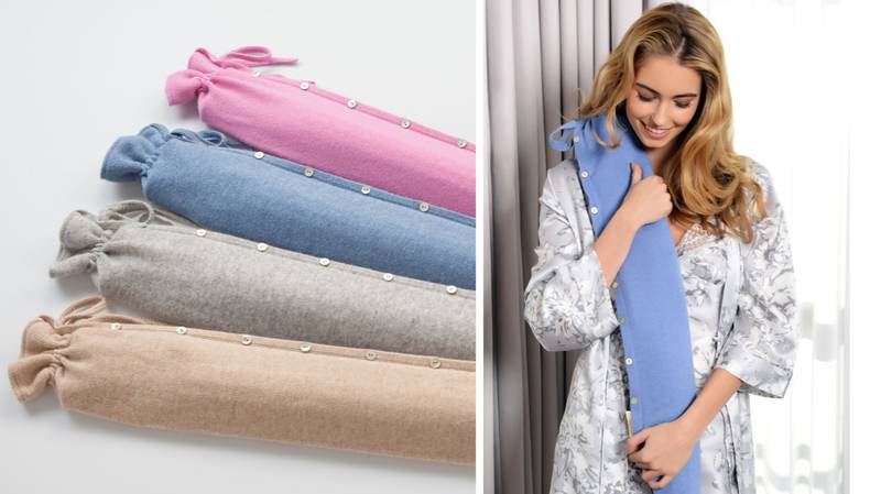 This Extra Long Hot Water Bottle Spreads Heat All Over Your Body And We Need It