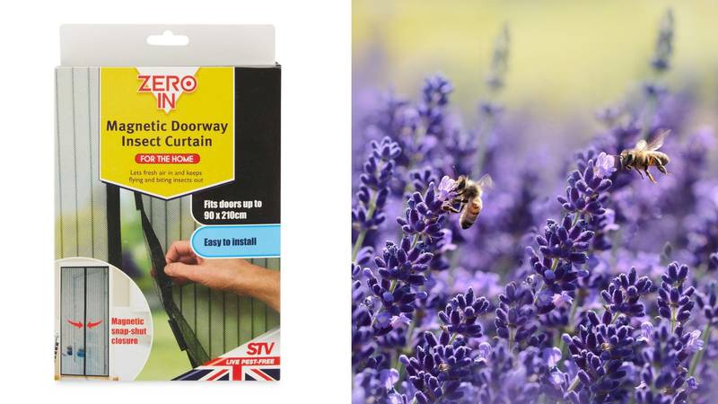 This £3.99 Magnetic Door Screen From Aldi Will Keep Insects Out Of Your Home This Summer