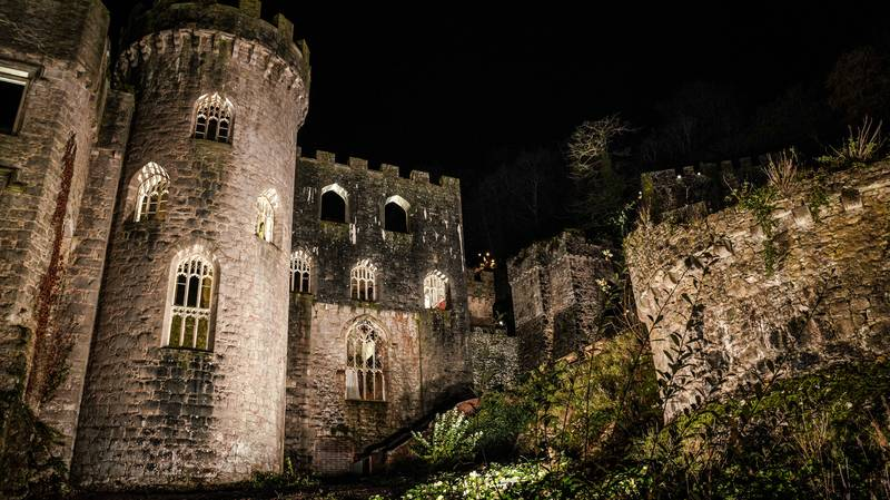 First Photos Of New I'm A Celebrity Camp At Gwrych Castle Released