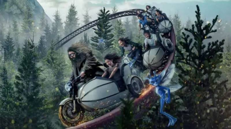 A New Hagrid-Themed Ride Is Arriving At Universal Orlando's Wizarding World Of Harry Potter