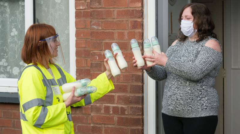 Mum Becomes Breast Milk Milkman To Help Feed Hungry Babies After Donating 330 Pints Of Her Own Liquid Gold