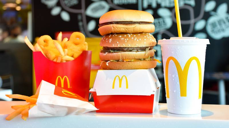 Boy Uses Mum's Phone To Order 10 Bags Of Food From McDonald's