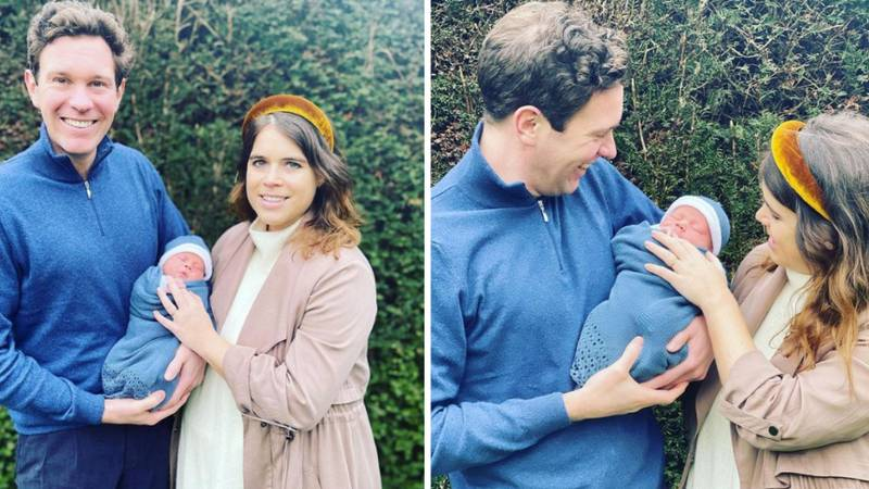 Princess Eugenie Reveals Baby's Name In First Pictures