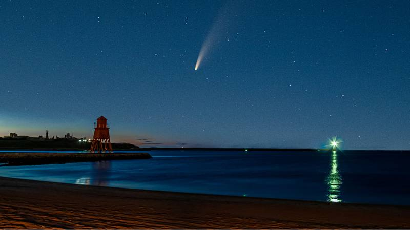 Comet Neowise Visible In UK Skies This Month And Won't Reappear For 6,800 Years
