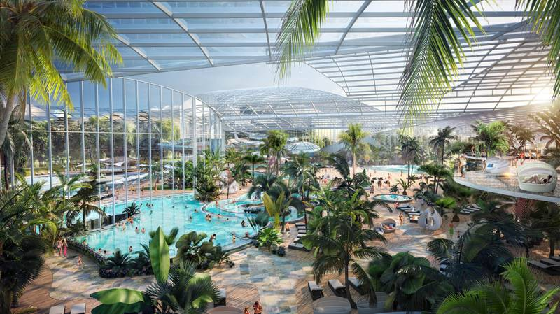Huge Tropical Water Park Spa Resorts Are Coming To Major UK Cities