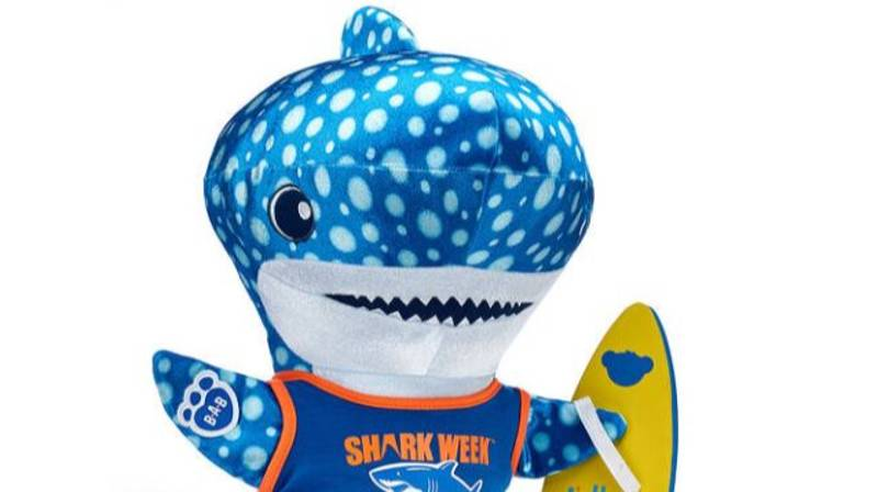 Build-A-Bear Just Launched An Entire Shark Collection And It's Jaw-some