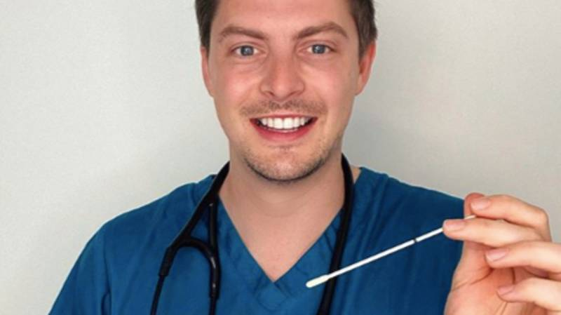 Dr Alex George Teaches Us How To Do An At Home Coronavirus Test