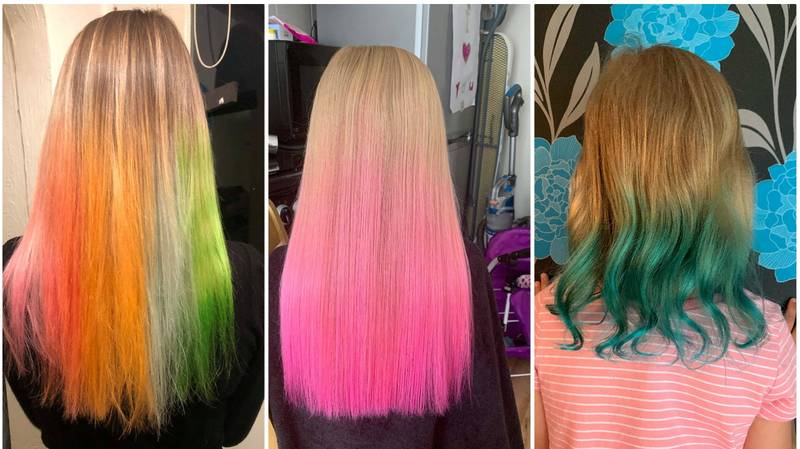 People Are Giving Themselves Mermaid Hair Using Just Tissue Paper