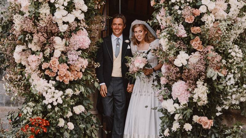 Why Princess Beatrice Was Right To Leave Andrew Out Of Her Wedding Photos