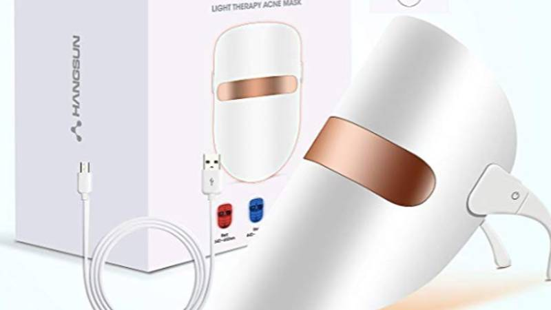 This Light Therapy Acne Mask Is Being Hailed As A 'Miracle Worker' By Fans