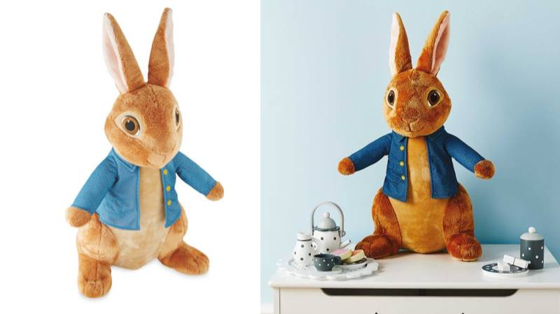 Aldi's Selling A Giant Peter Rabbit Cuddly Toy For £15