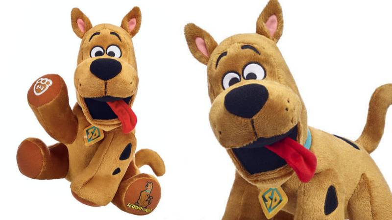 Build-A-Bear Just Launched A Scooby-Doo Plush And It's Adorable