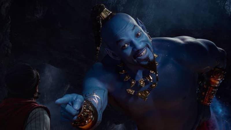 'Aladdin' Fans Mock Will Smith As The Blue Genie