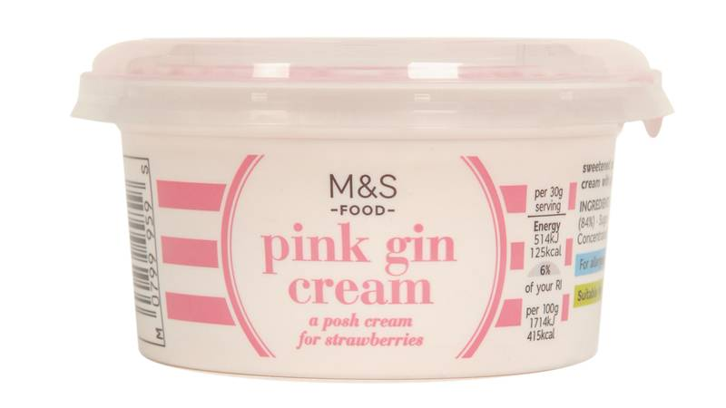 Marks & Spencer Is Selling A Pink Gin Cream Just In Time For Wimbledon