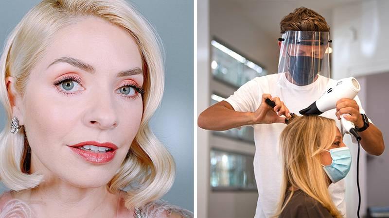 Hairstylist Criticises 'One Rule For Them' As Stars Like Holly Willoughby Get Glammed Up For TV