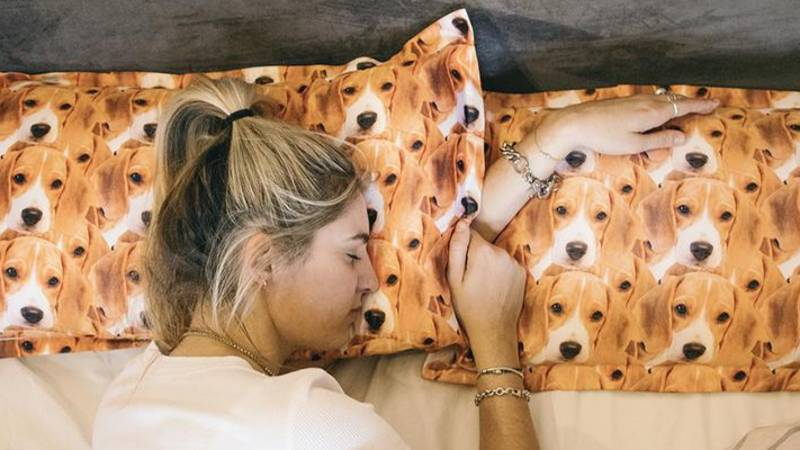 These Personalised Dog Pillowcases Are Exactly What We Need In Our Lives