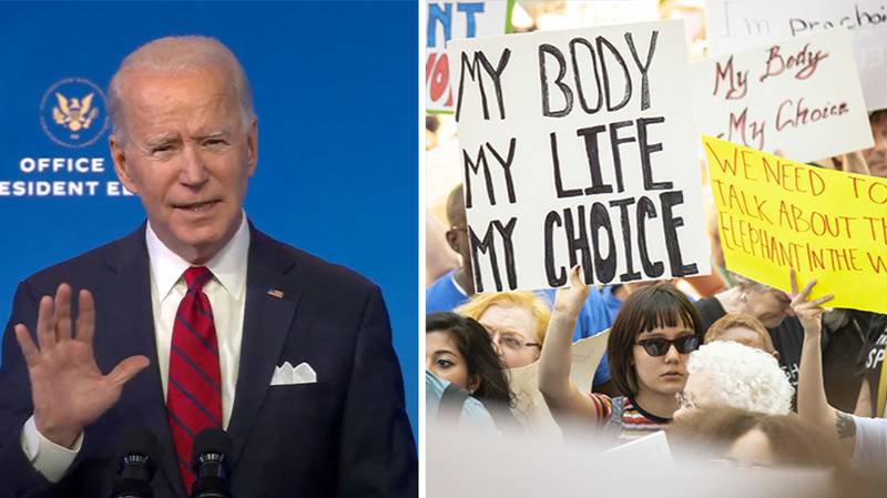 Inauguration Day 2021: Joe Biden Set To Overturn Ban On Funding For Abortion Services
