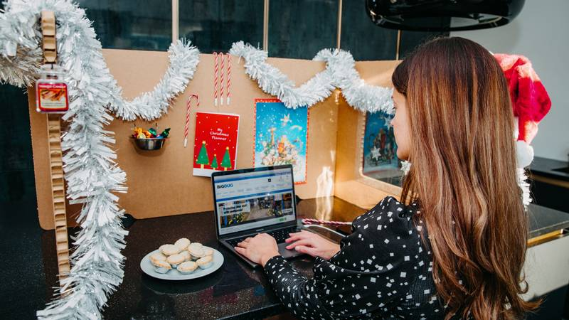 You Can Now Get A Festive Work Station To Brighten Up Your WFH Desk
