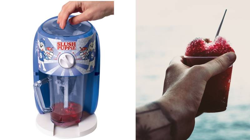 B&M Is Selling a Slush Puppie Machine for £35 Just In Time For The Heatwave