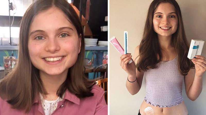 Teen Who Went Through Menopause At 15 Now Helping Mum Go Through It