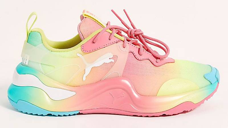 Puma Just Dropped Rainbow Trainers That Are Brighter Than Skittles
