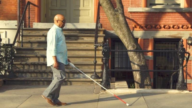 This 'Smart Cane' Is Fitted With A Navigation System And Sensors To Help People Who Are Blind