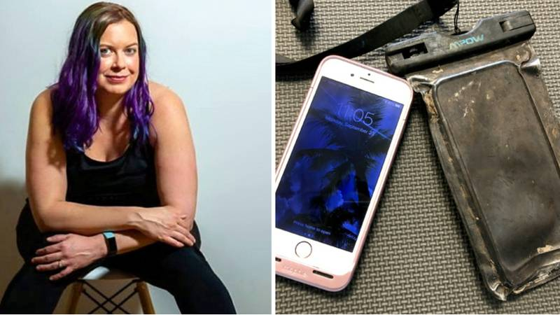 Woman Reunited With Late Dad's Messages After Diver Finds Her Phone