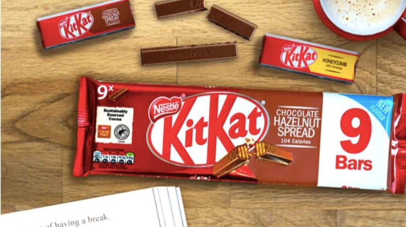 KitKat Launches Hazelnut Spread Flavour In The UK