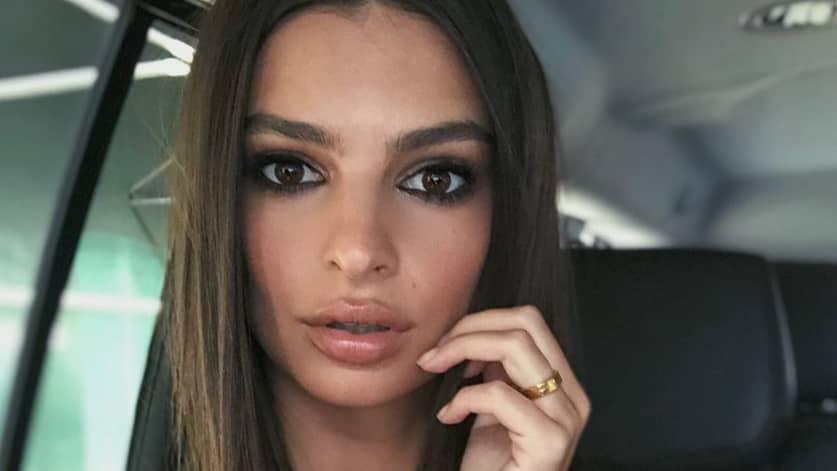 Pregnant Emily Ratajkowski Shuts Down Rumours That She Got Lip Injections